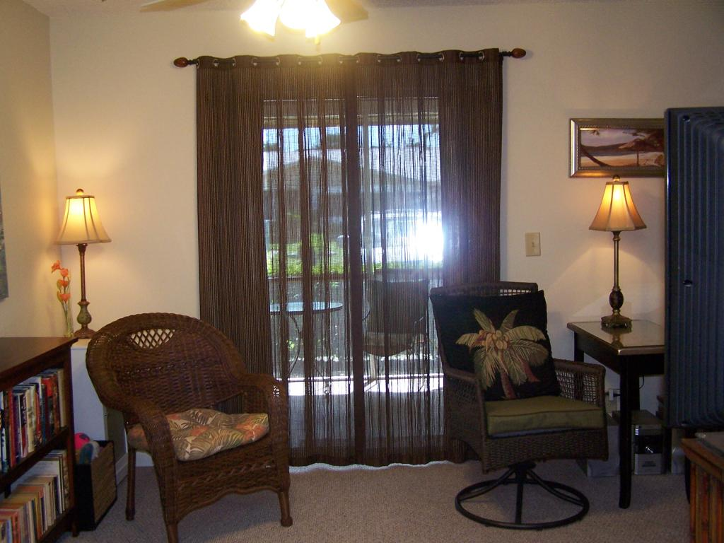 Image of: Bamboo Curtain Panel Room