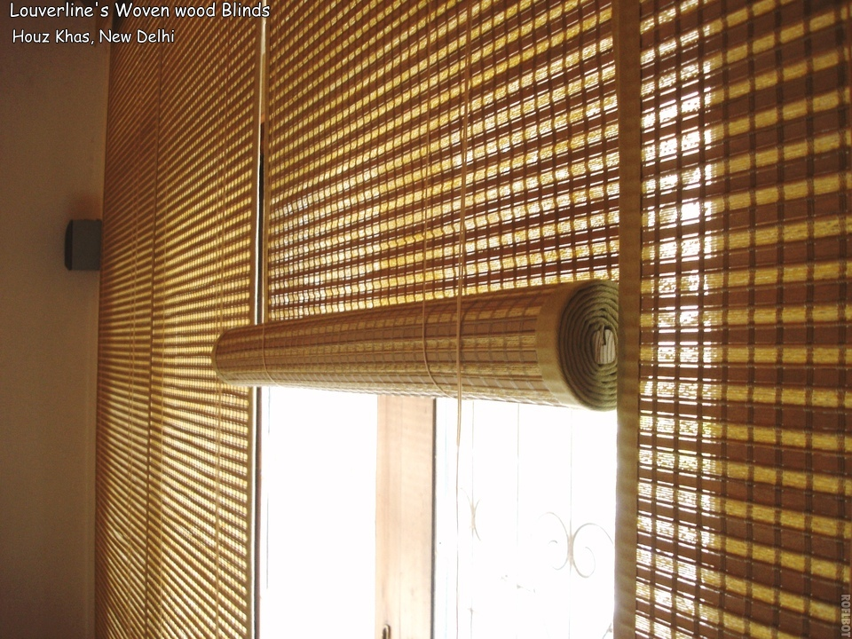 Image of: Bamboo Curtain Panel Views