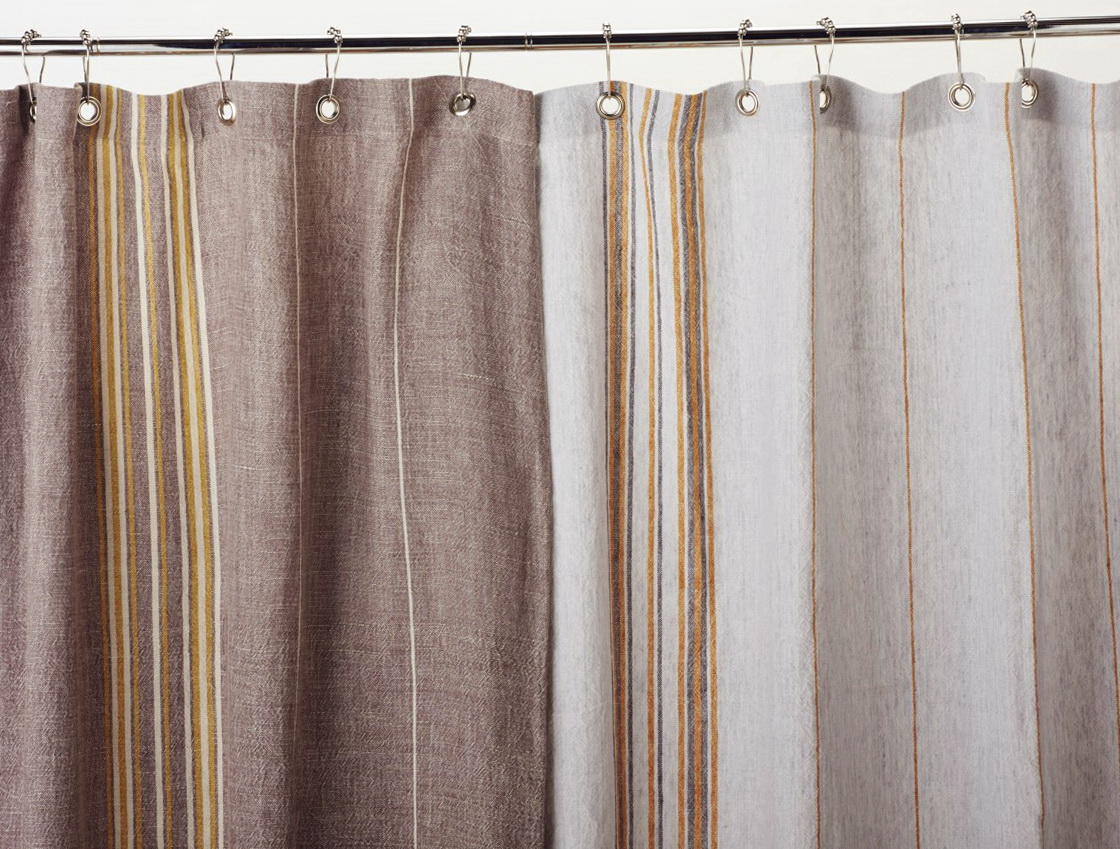 Image of: Bathroom Curtain Rustic