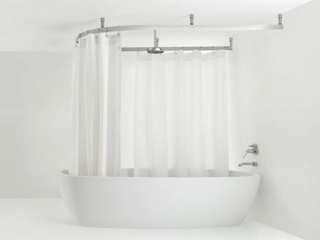 Image of: Bathroom Curtain Shower
