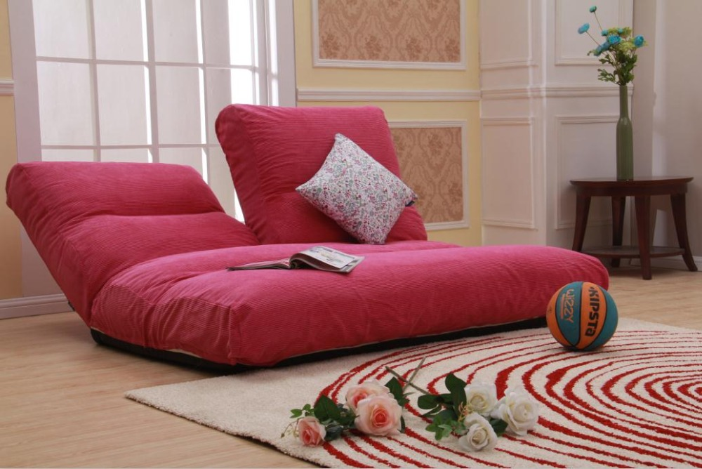 Image of: Bean Bag Living Room Red