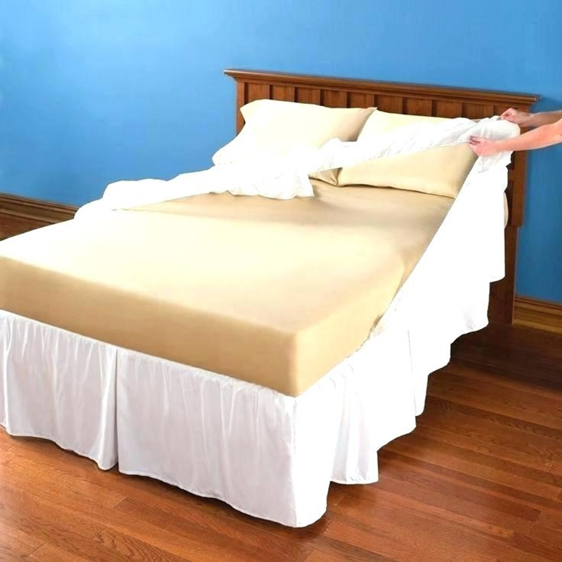 Image of: Bed Skirt Alternatives Ideas