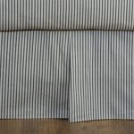 Bed Skirts Striped Navy
