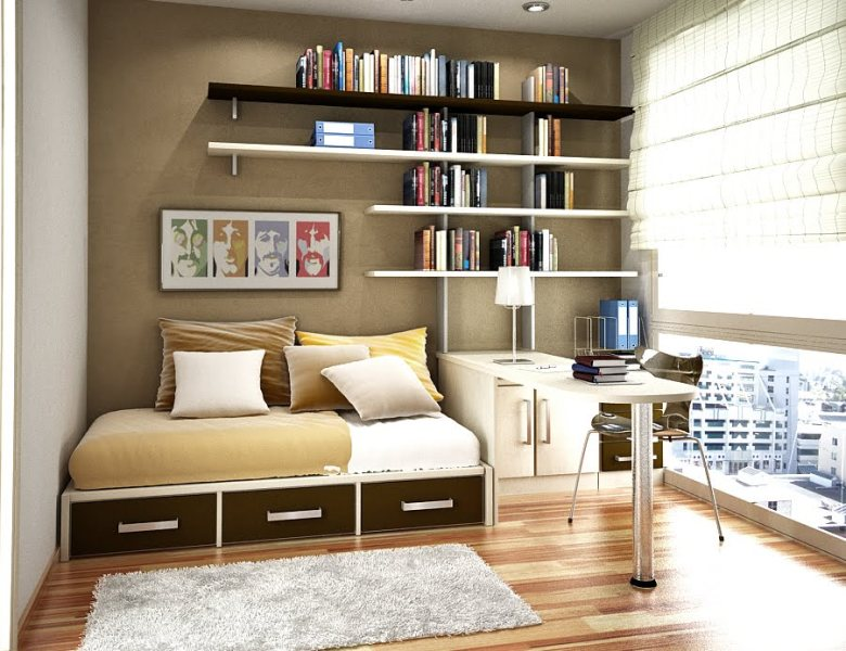 Image of: Bedroom Storage Ideas For Small Spaces