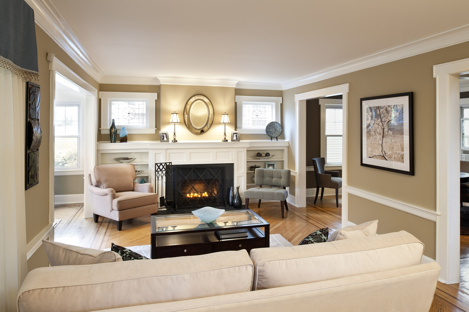 Image of: Beige Living Room Interior