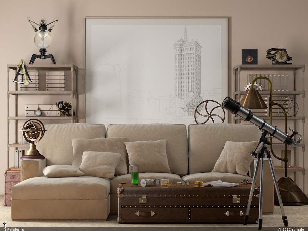 Image of: Beige Living Room Neutral