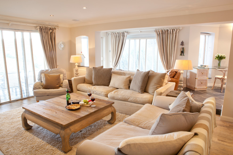 Image of: Beige Living Room Style