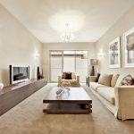 Beige Living Room Wooden