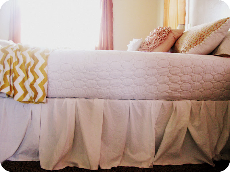 Image of: Best DIY Bed Skirt Design