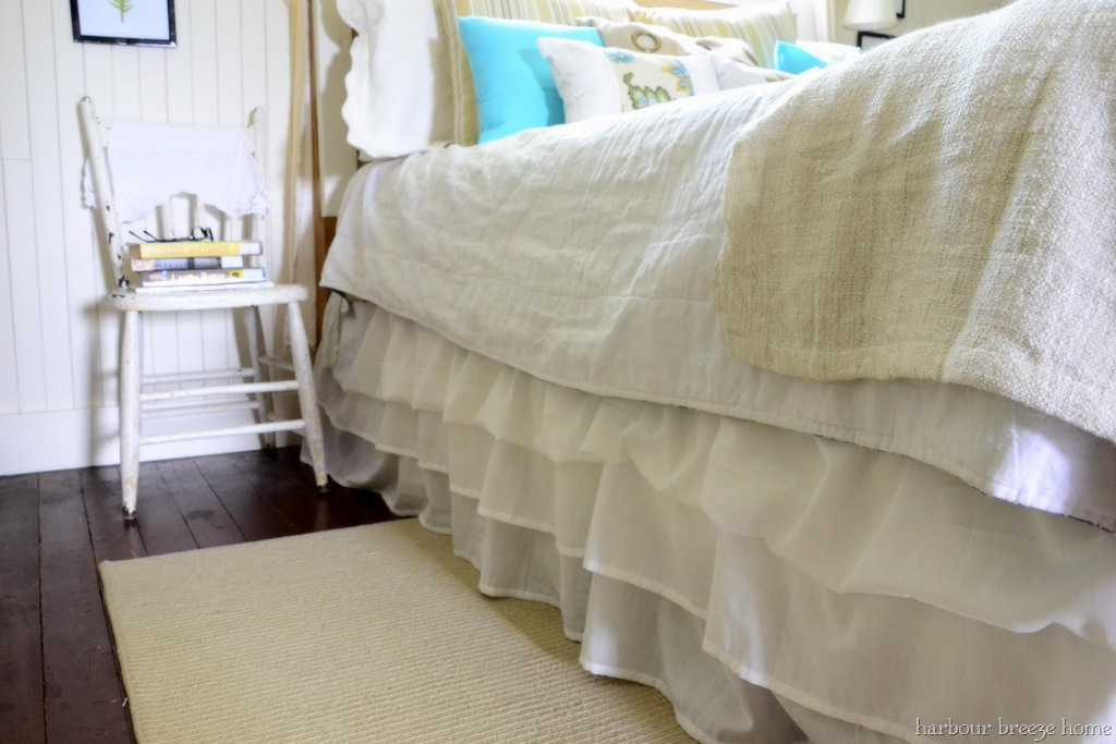 Image of: Best DIY Bed Skirt