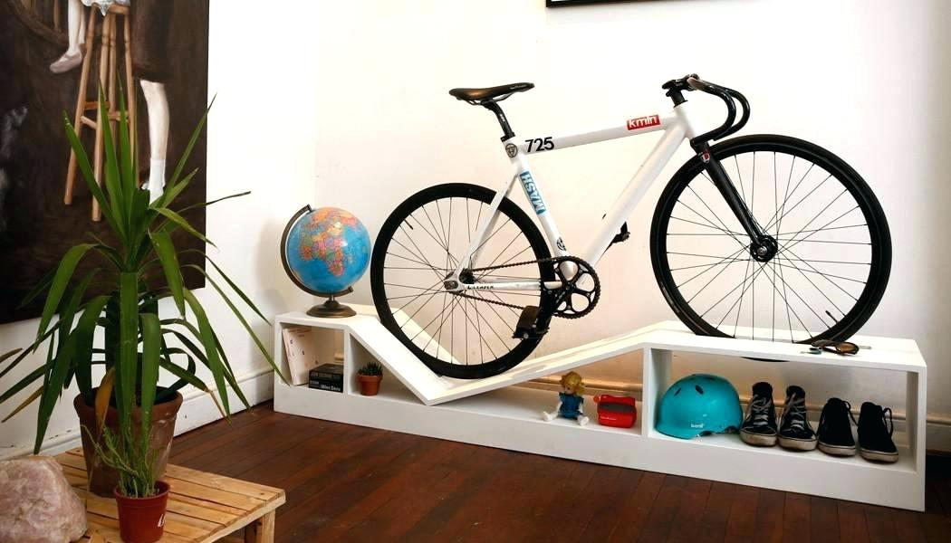 Image of: Bicycle Storage Ideas System