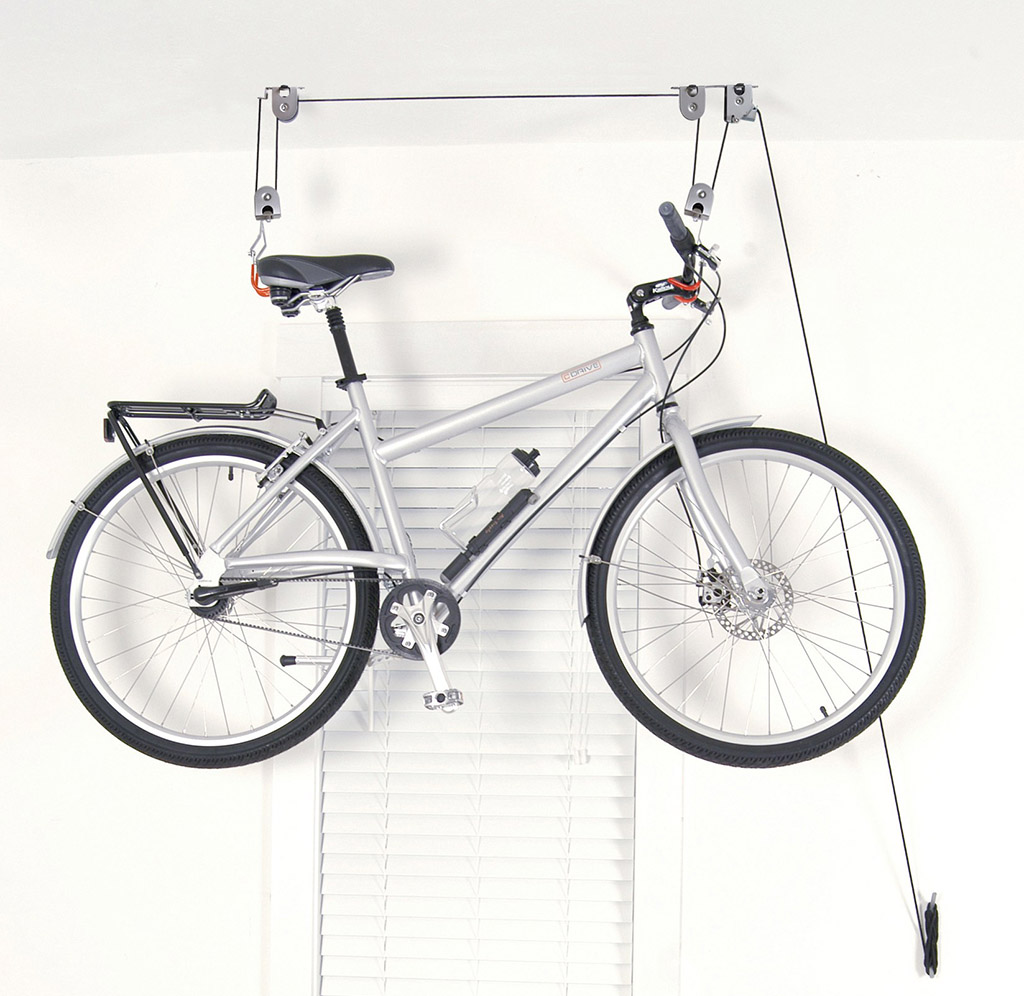 Image of: Bicycle Storage Ideas Wall