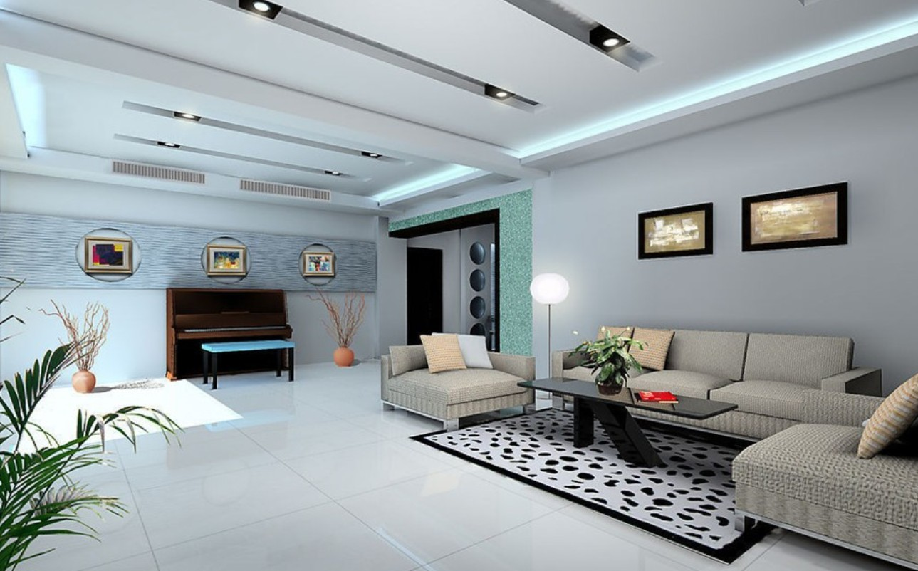 Image of: Big Living Room Futuristic