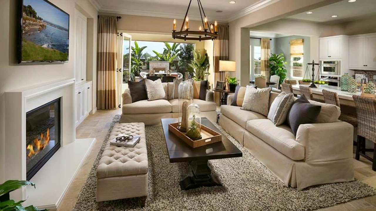 Image of: Big Living Room Ideas