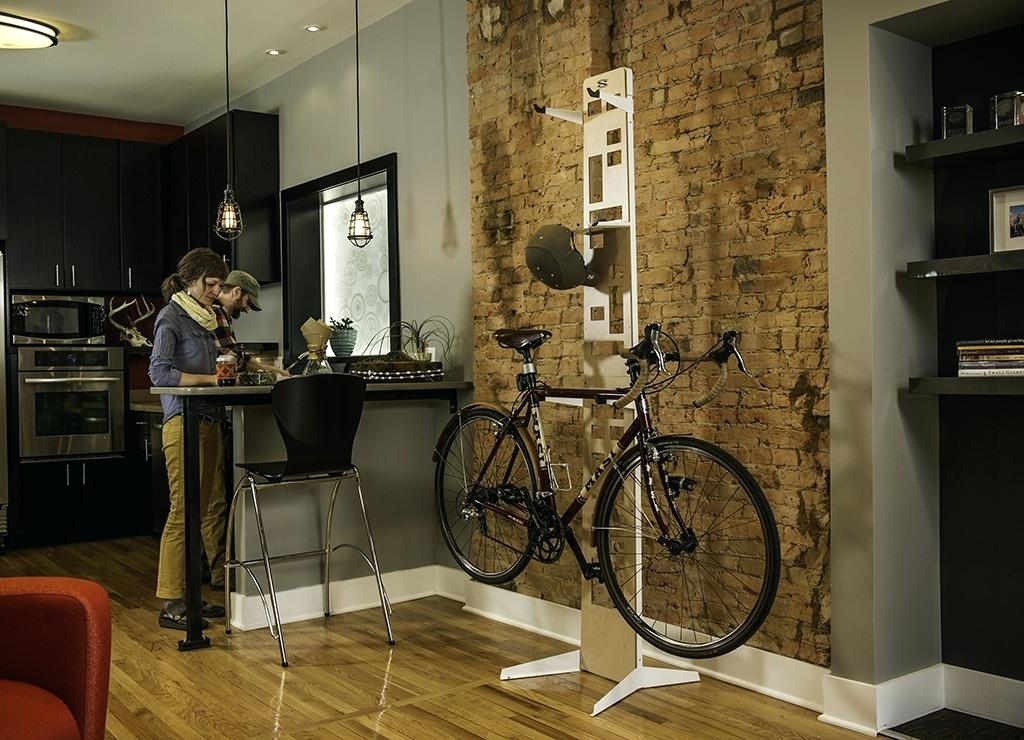 Image of: Bike Storage Ideas Indoor