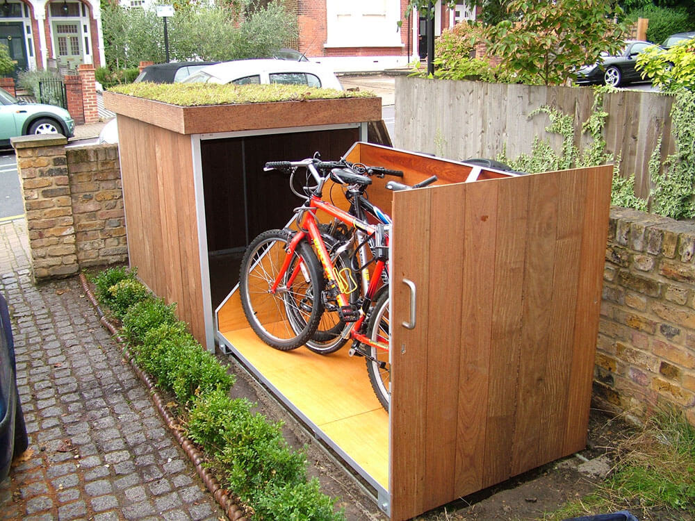 Image of: Bike Storage Ideas Outdoor