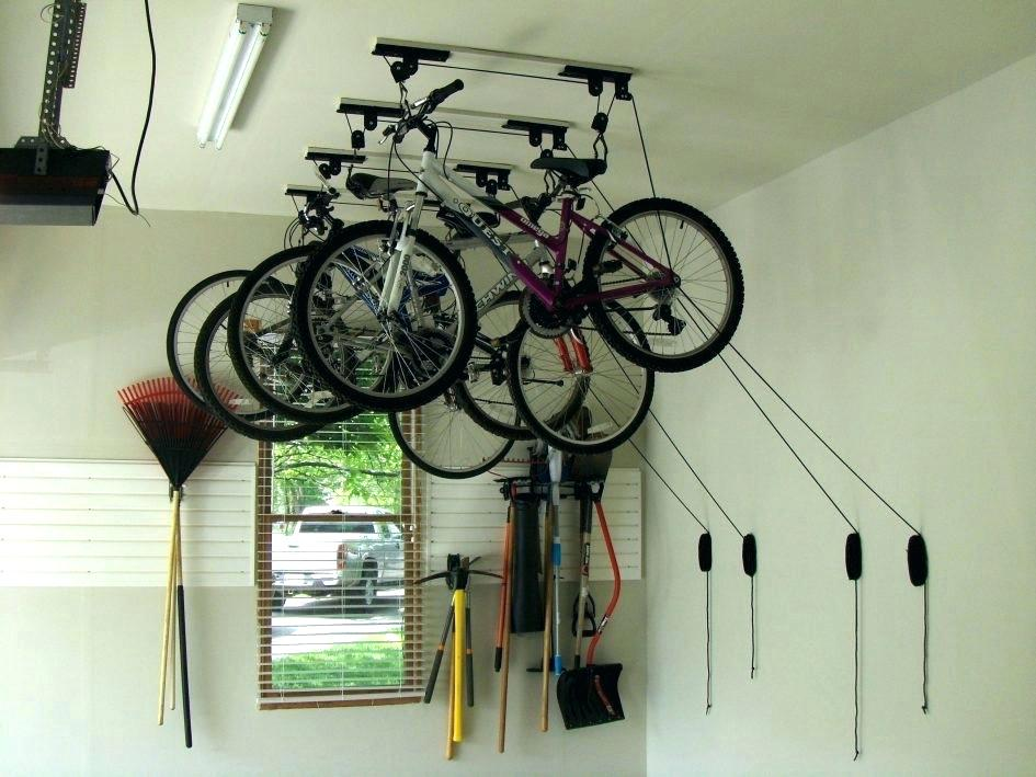 Image of: Bike Storage Ideas System