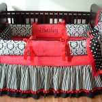 Black And White Bed Skirt Combination