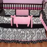 Black And White Bed Skirt Nursery
