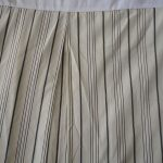 Black And White Striped Bed Skirt Diy