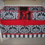 Black And White Striped Bed Skirt Popular