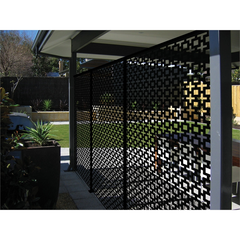 Black Plastic Wall Panels