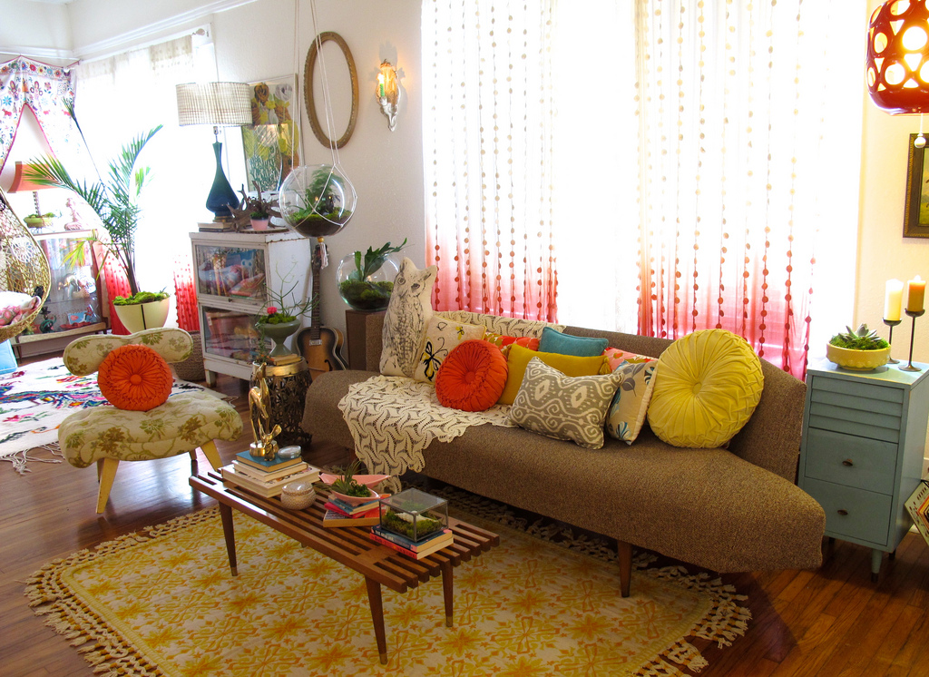 Image of: Bohemian Living Room Interior