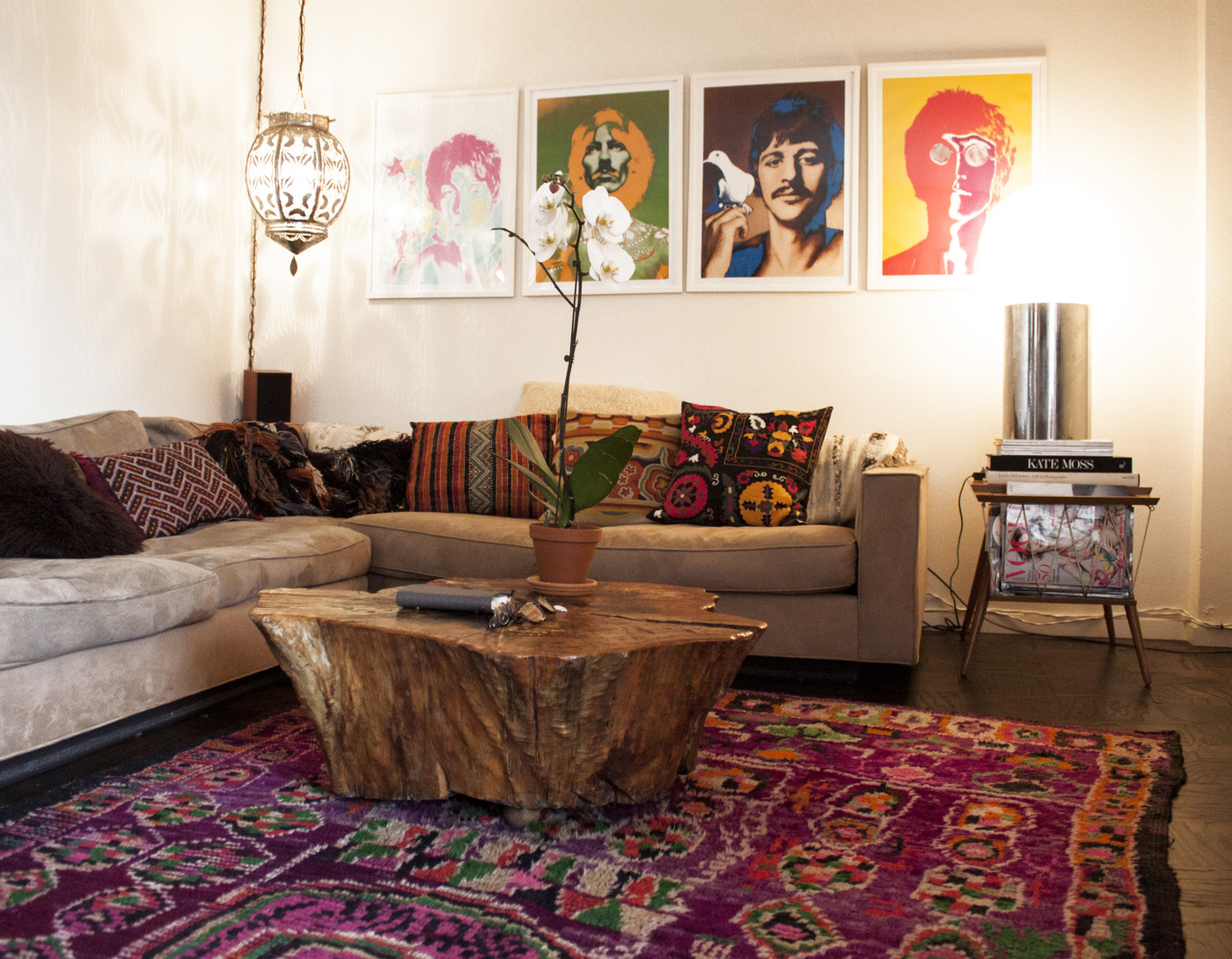 Image of: Bohemian Style Living Room Artistic