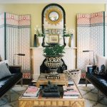 Bohemian Style Living Room Curtains