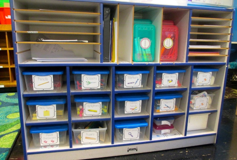 Image of: Book Storage Ideas For Classroom