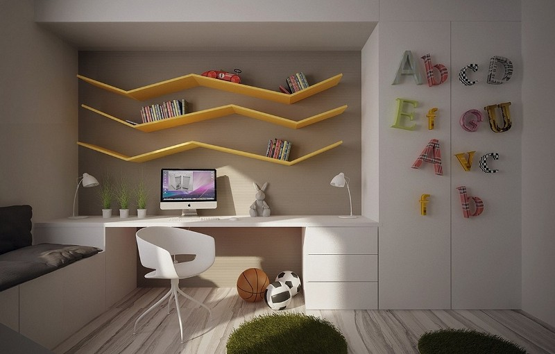 Image of: Book Storage Ideas For Kids