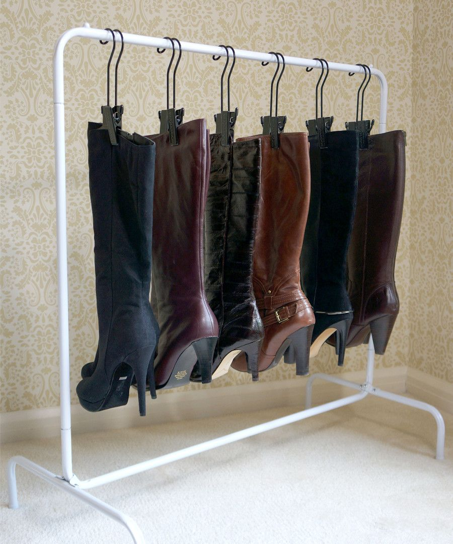 Image of: Boot Storage Ideas Rack