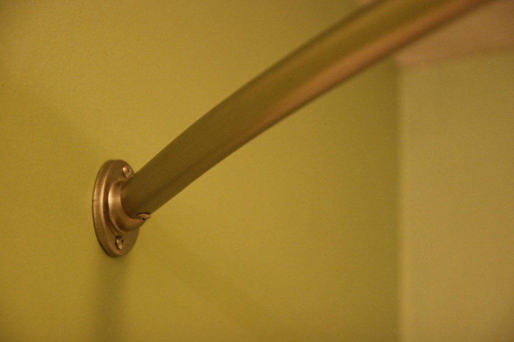 Image of: Brass Curtain Rods Project