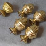 Brass Curtain Rods Small
