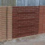 Brick Wall Panels for Gardens