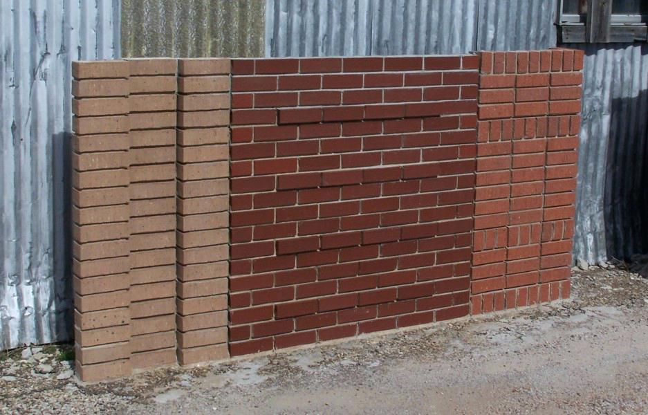 Image of: Brick Wall Panels for Gardens