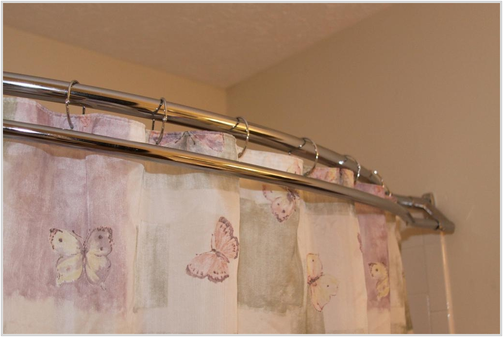 Image of: Bronze Curtain Rods Pattern