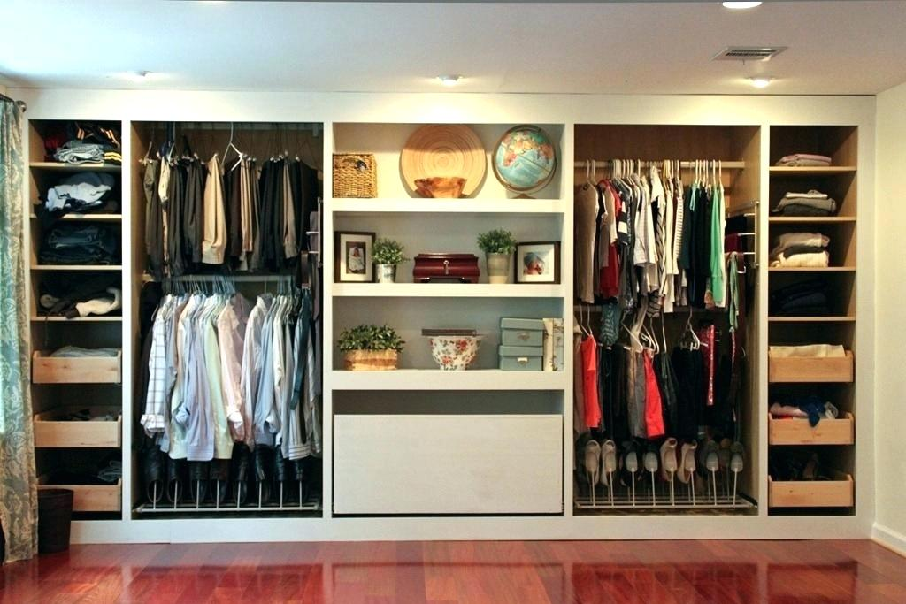 Image of: Broom Storage Ideas for Small Closets