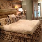Burlap Bed Skirt King