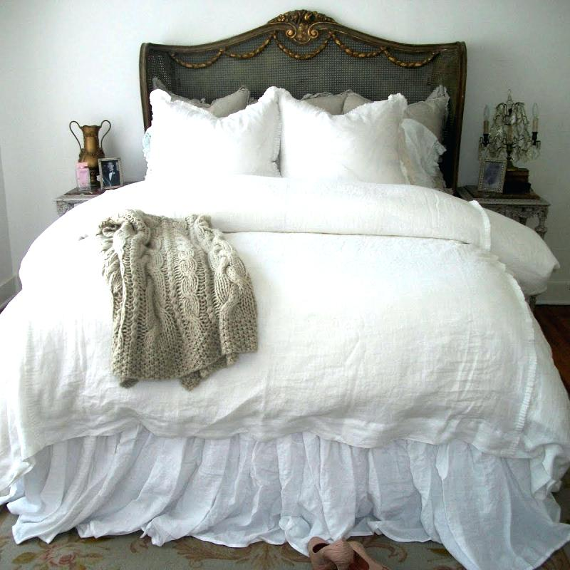 Image of: Buy White Ruffle Bed Skirt