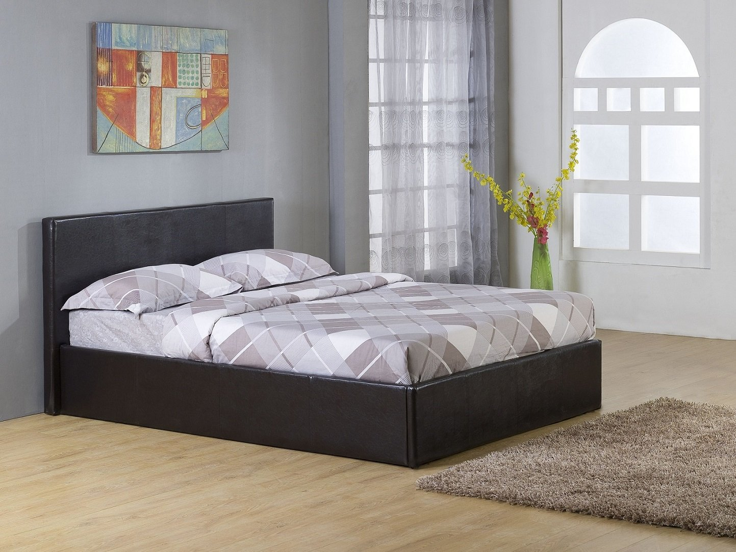 Image of: California King Storage Bed Size
