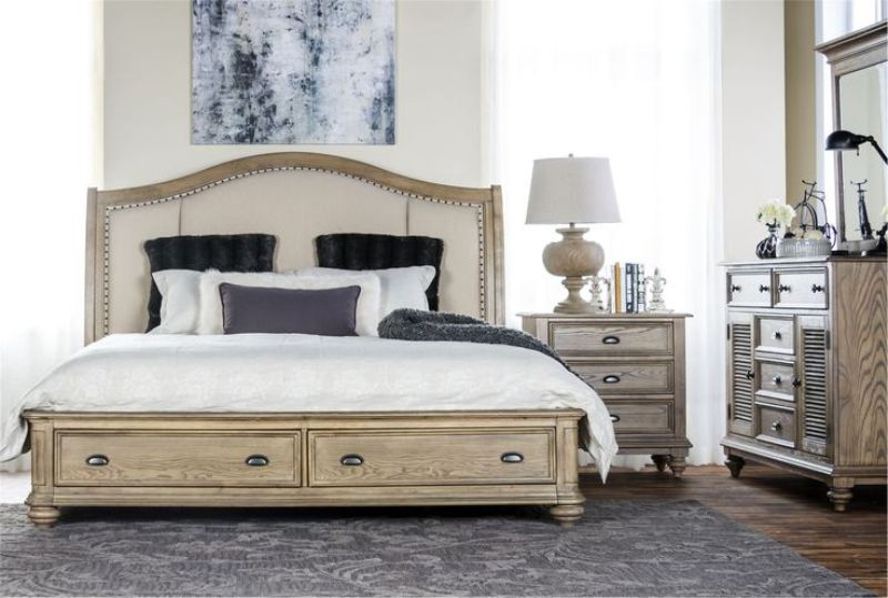 California King Storage Bedroom Set
