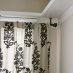 Ceiling Mount Curtain Rod Vintage
