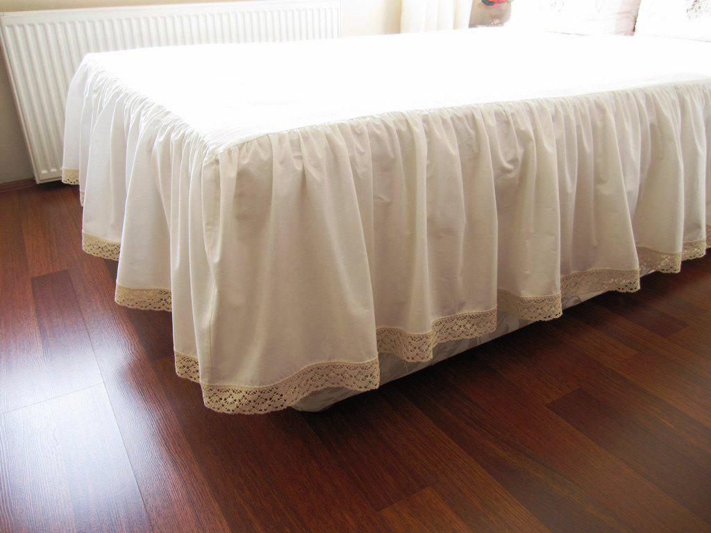 Image of: Cheap DIY Bed Skirt