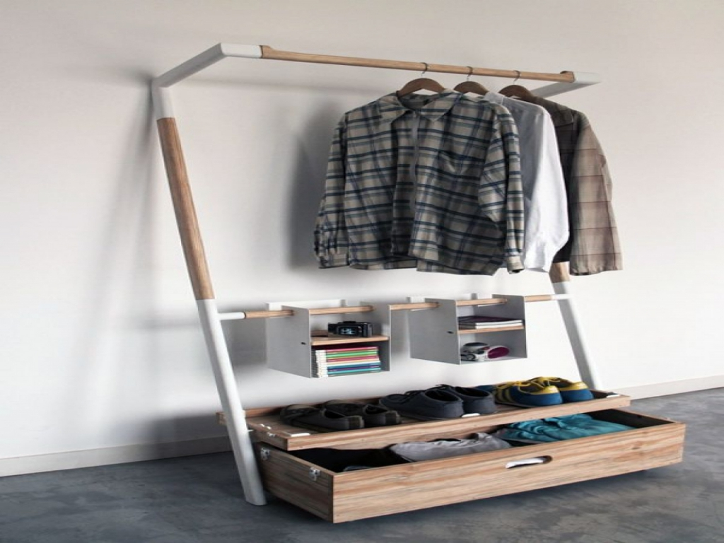 Image of: Clothing Storage Ideas for Small Spaces
