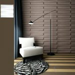 Colored Bamboo Wall Panels