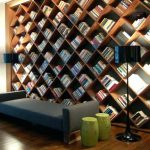 Comic Book Storage Ideas above Stairs