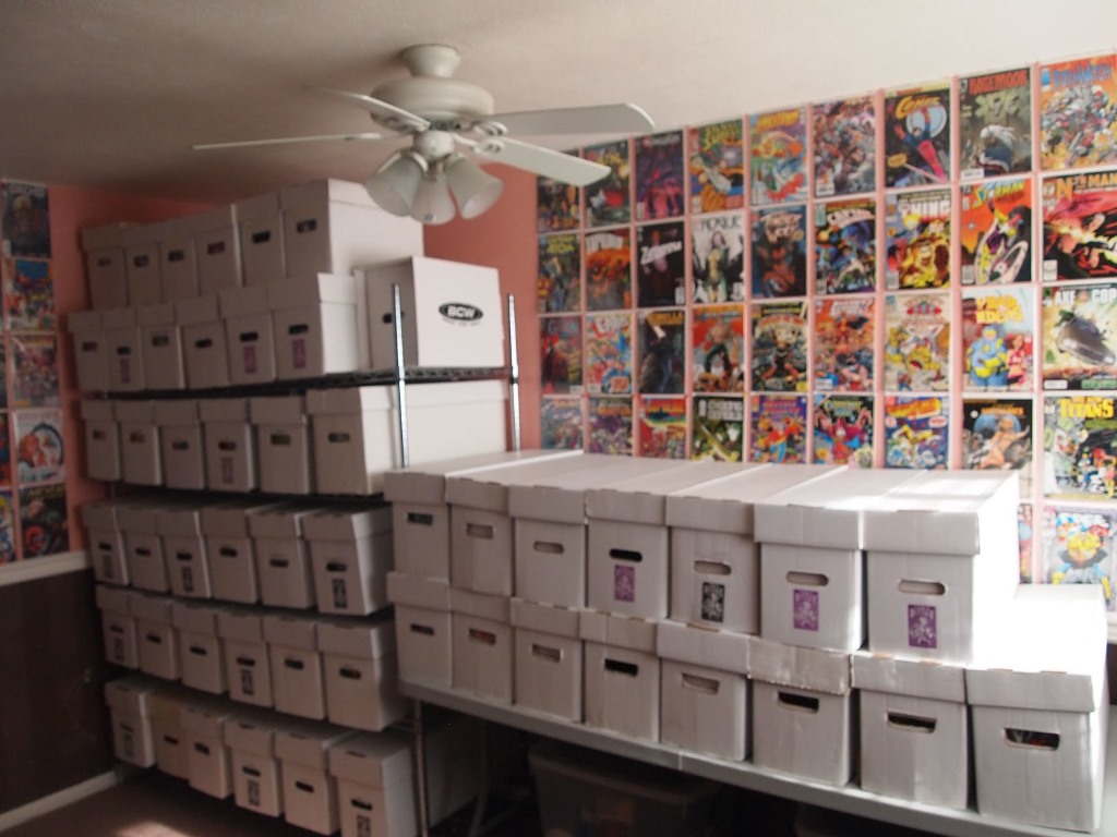 Image of: Comic Book Storage Ideas for Small Bedrooms Design