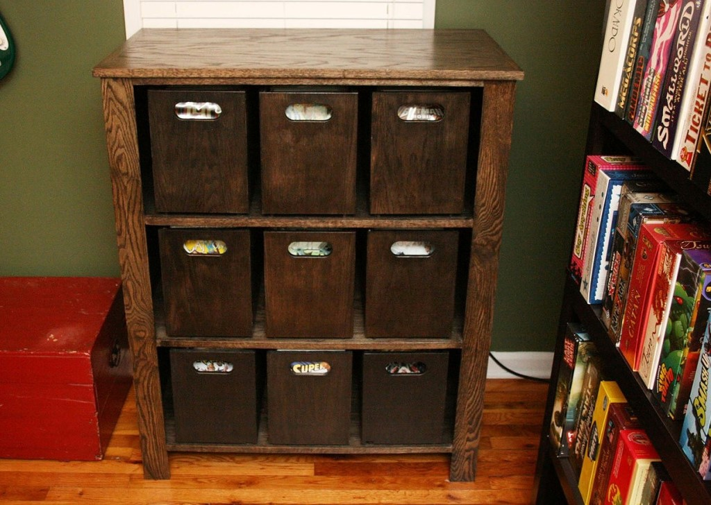 Image of: Comic Book Storage Ideas for Small Space