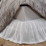 Commercial White Bed Skirt